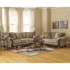 Signature Design By Ashley Harvest Sleeper Sofa Estilo Ingles Lanett And Reviews Wayfair
