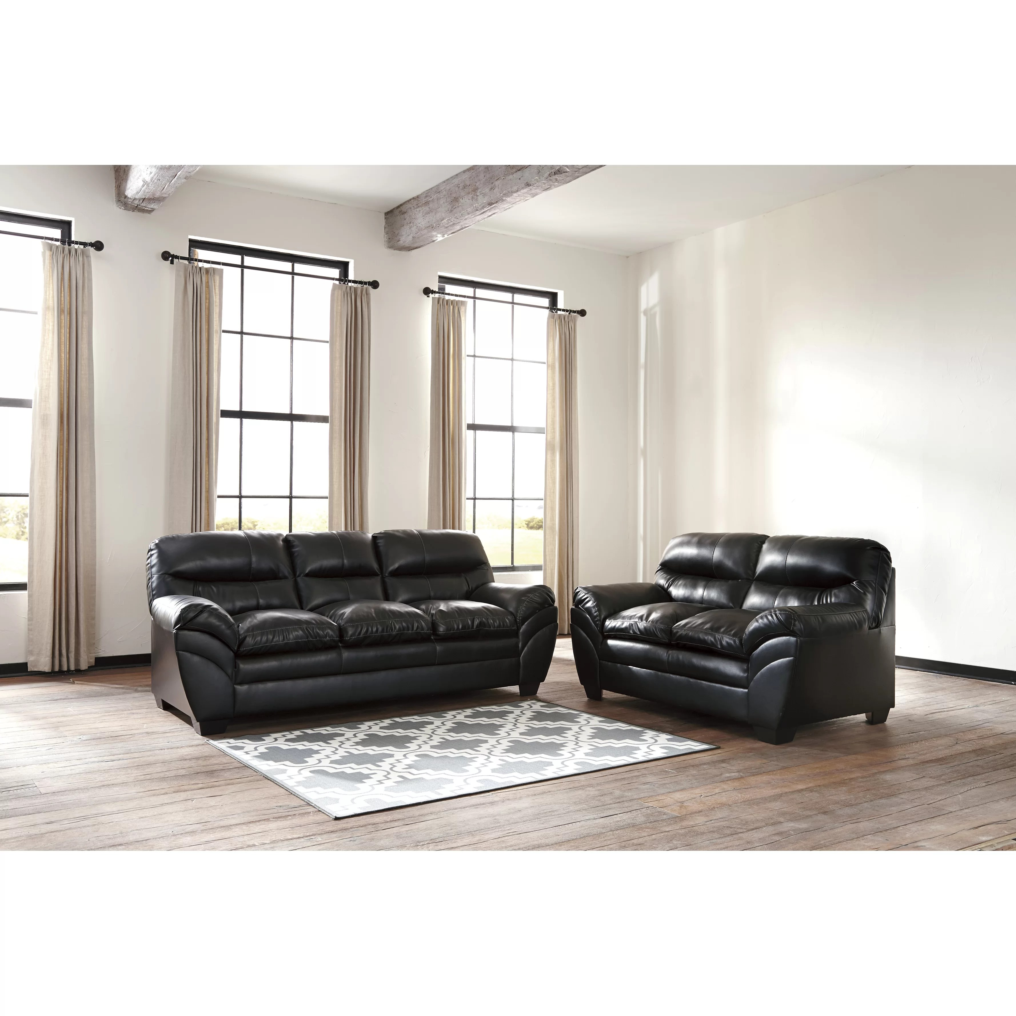 signature design by ashley harvest sleeper sofa curved for bay window tassler and reviews wayfair