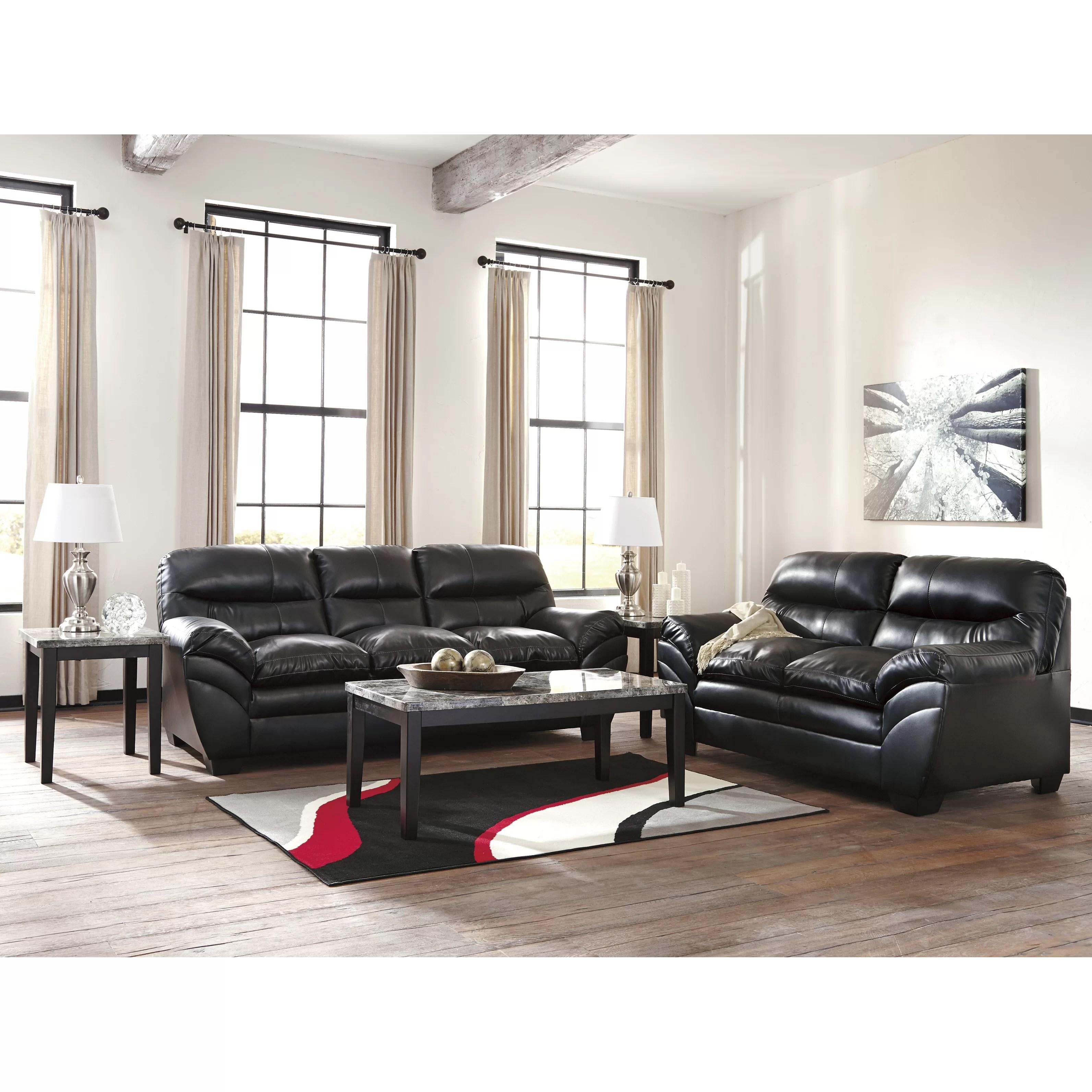 signature design by ashley harvest sleeper sofa sofaer and co menu tassler reviews wayfair