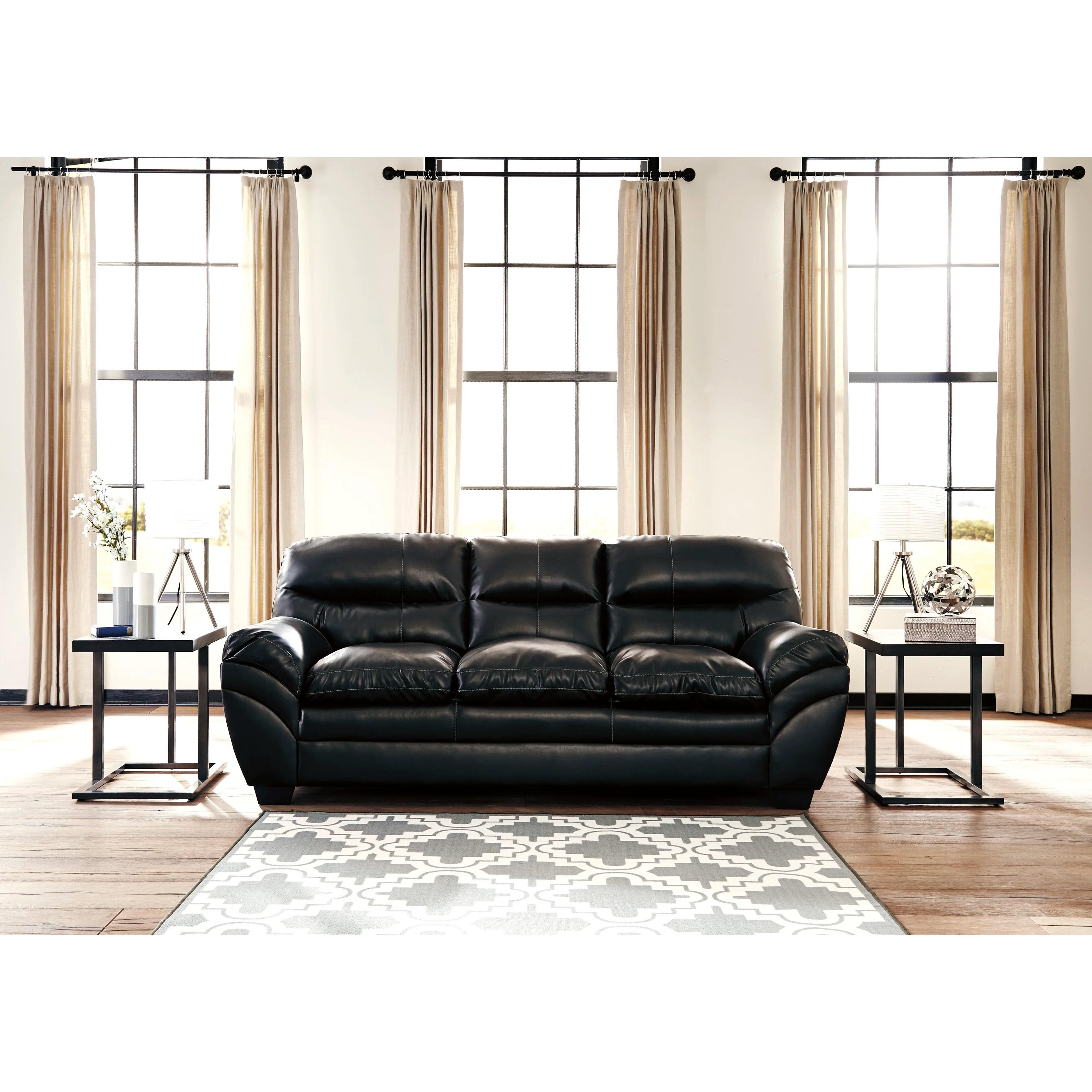 signature design by ashley harvest sleeper sofa bonbon tassler and reviews wayfair