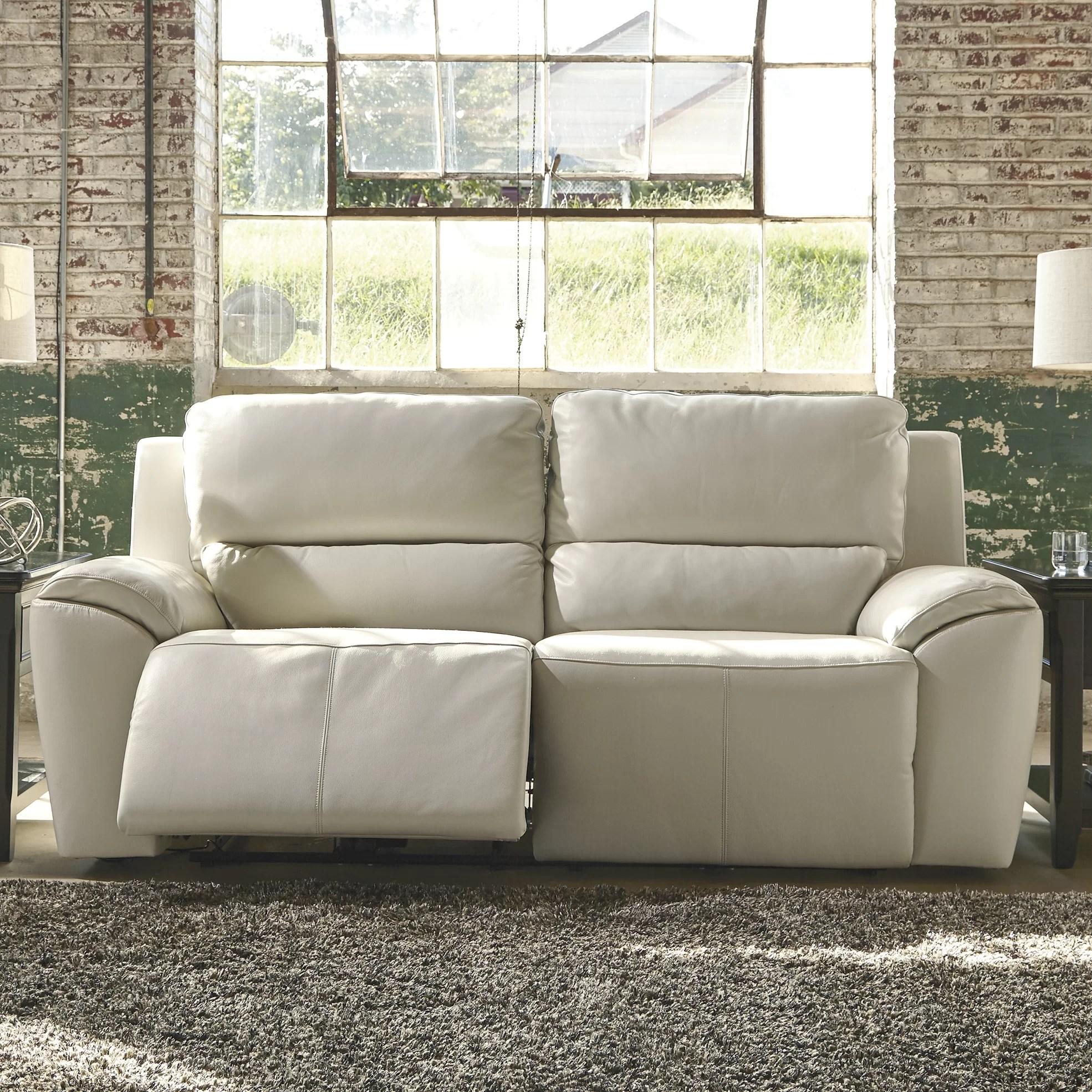 signature design by ashley harvest sleeper sofa flexsteel westport power reclining 2 seat wayfair