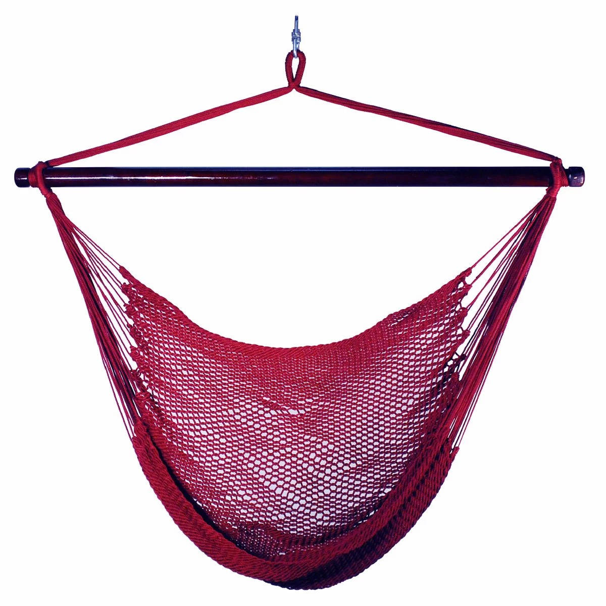 hanging rope chair wheelchair unicode algoma net company caribbean hammock