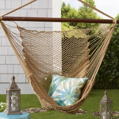Hanging Hammock Chair Barcelona Orange Algoma Net Company Caribbean