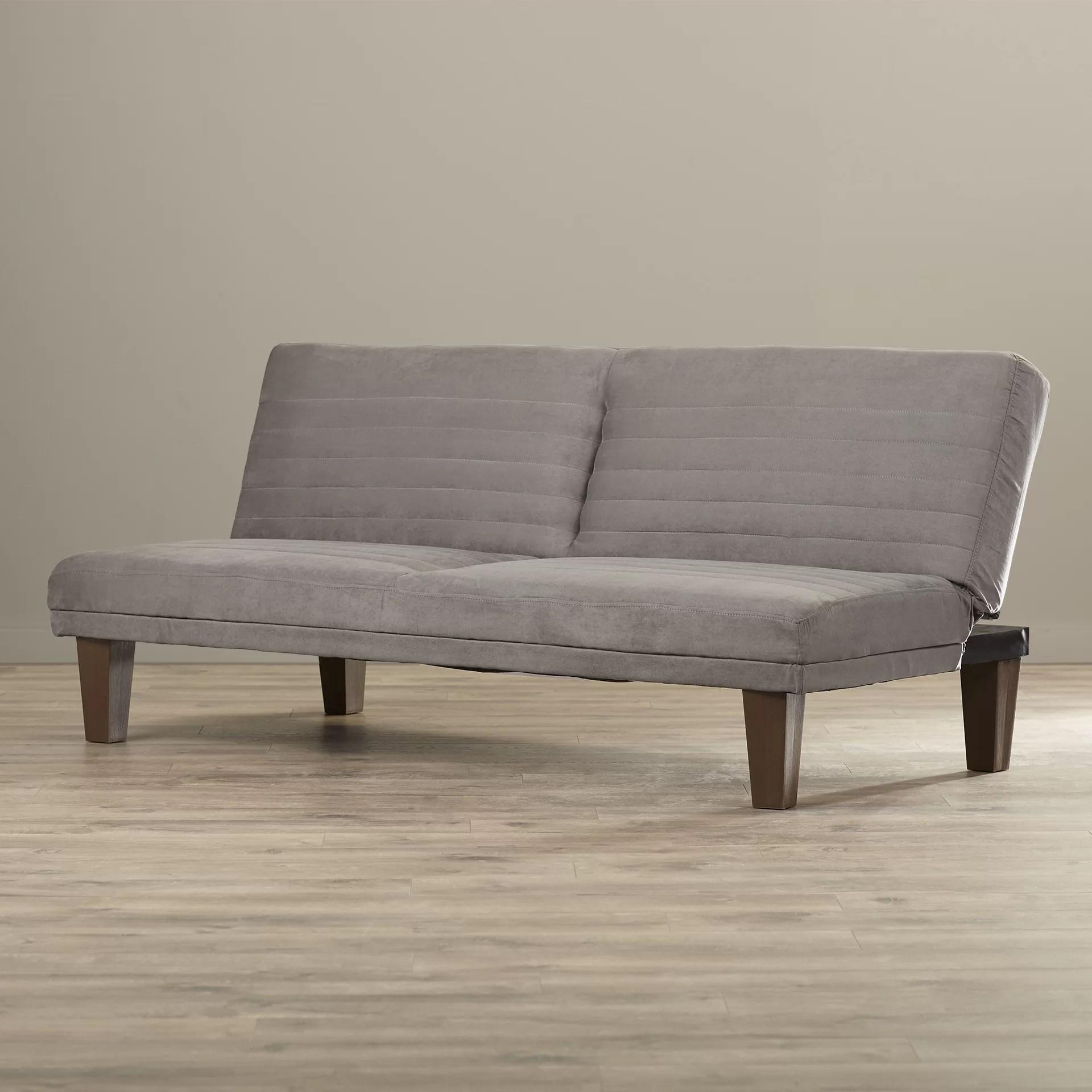 bianca futon sofa bed review queen convertible zipcode design and reviews wayfair