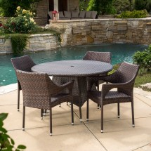 Home Loft Concepts Armstrong 5 Piece Dining Set &