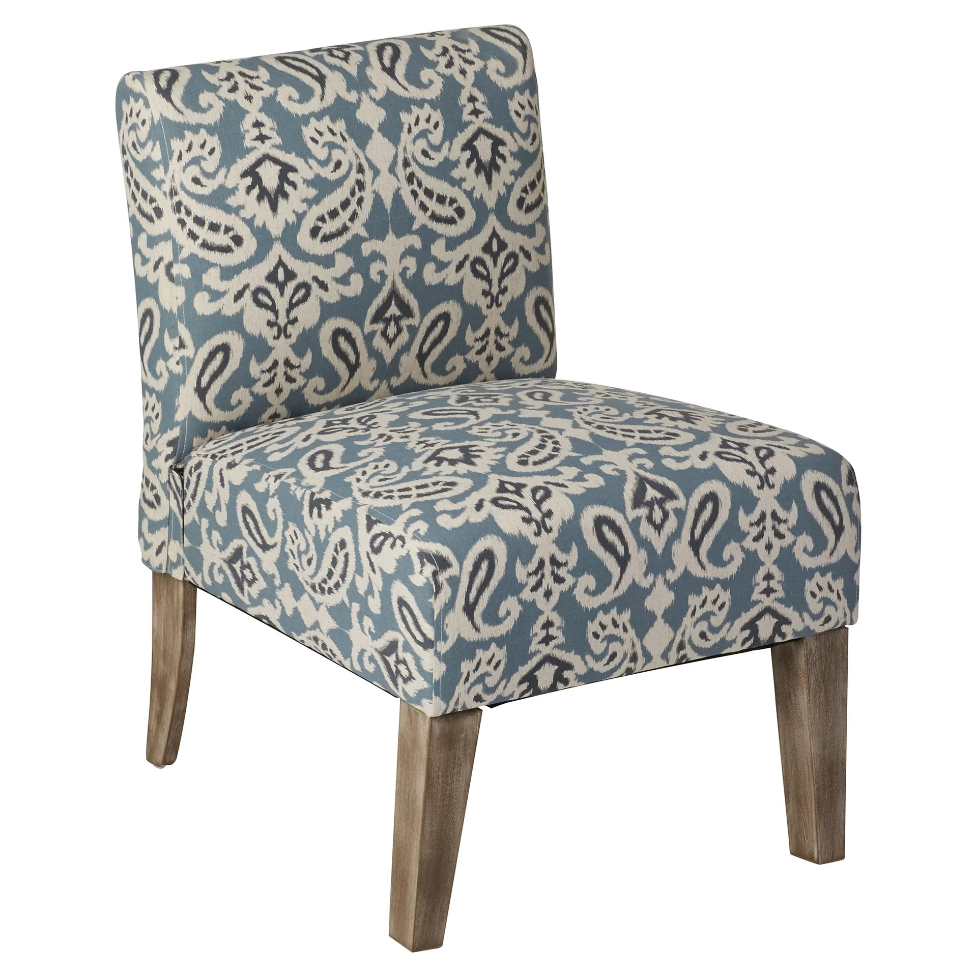 Blue Slipper Chair Spencer Slipper Chair In Blue Wayfair Ca