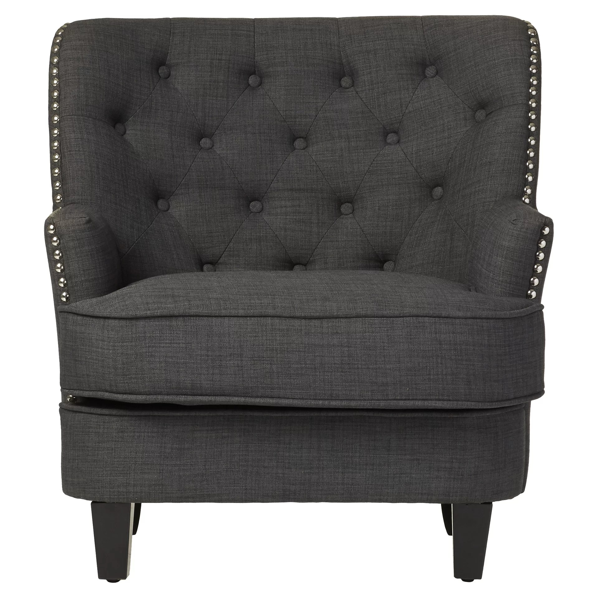 Porter Chair Three Posts Porter Tufted Club Chair And Reviews Wayfair