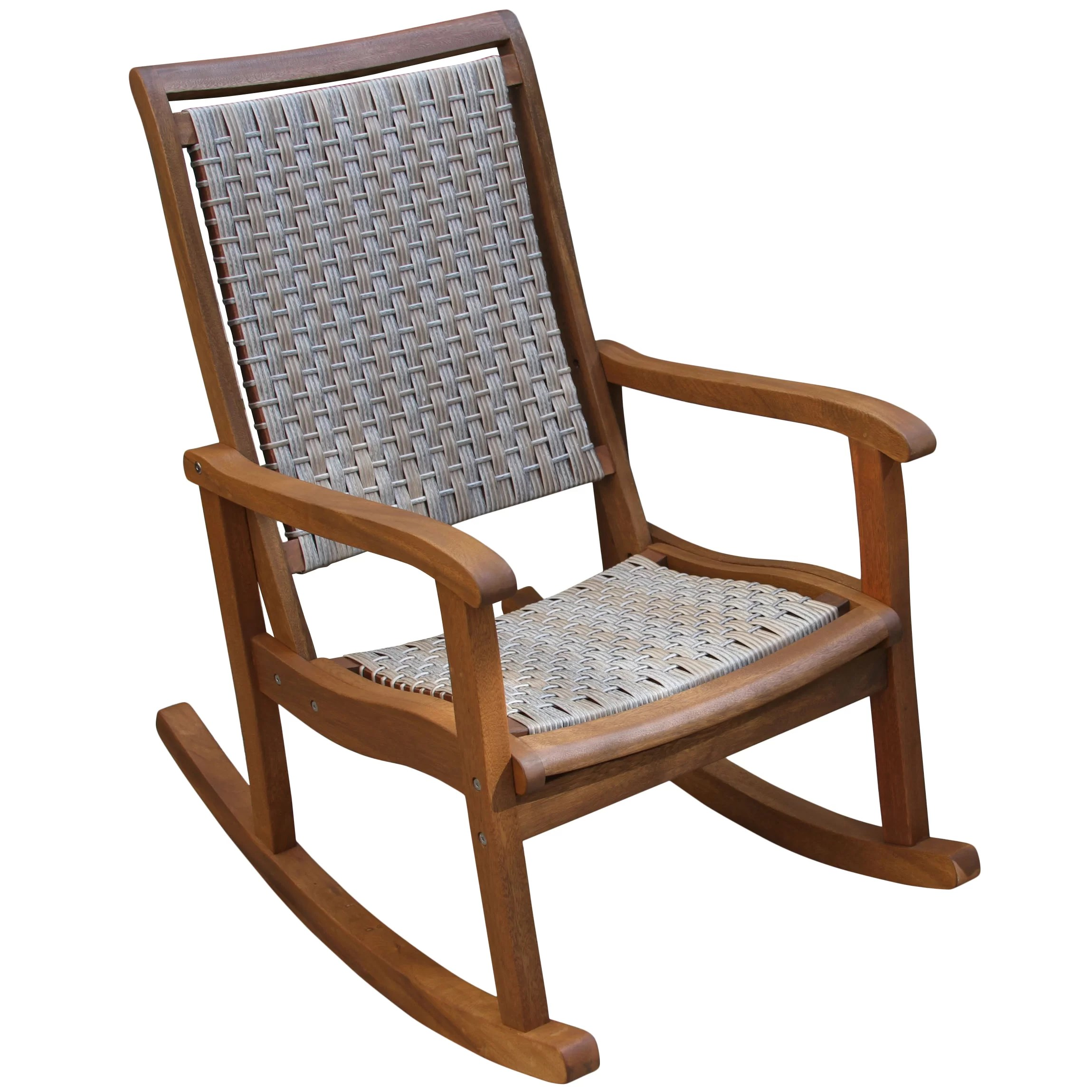 rocking chair for two stools wooden three posts davis and reviews wayfair