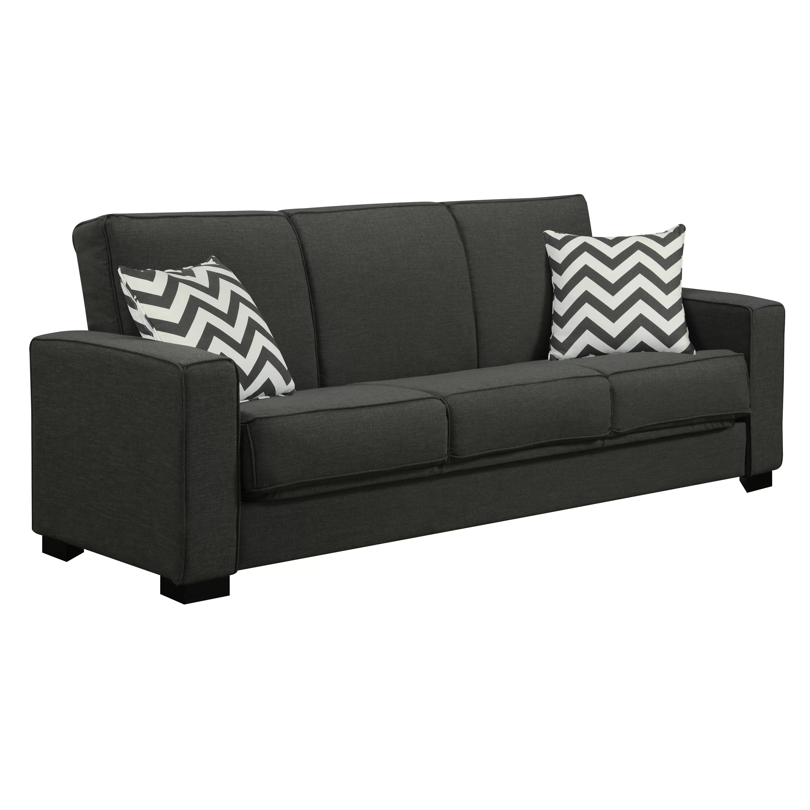 Convertible Chair Sleeper Athena Convertible Sleeper Sofa Wayfair