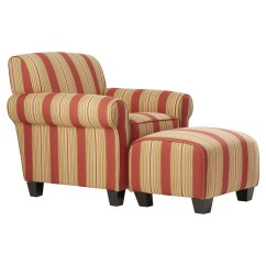 Red Chair And Ottoman Cover Rental Brampton Barrel Studio Raven Populuxe Arm