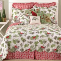 Laurel and Mayfair Winter Bird Reversible Quilt & Reviews