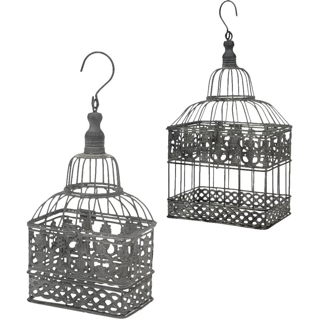 Boston International 2 Piece Birdcage Outdoor Hanging