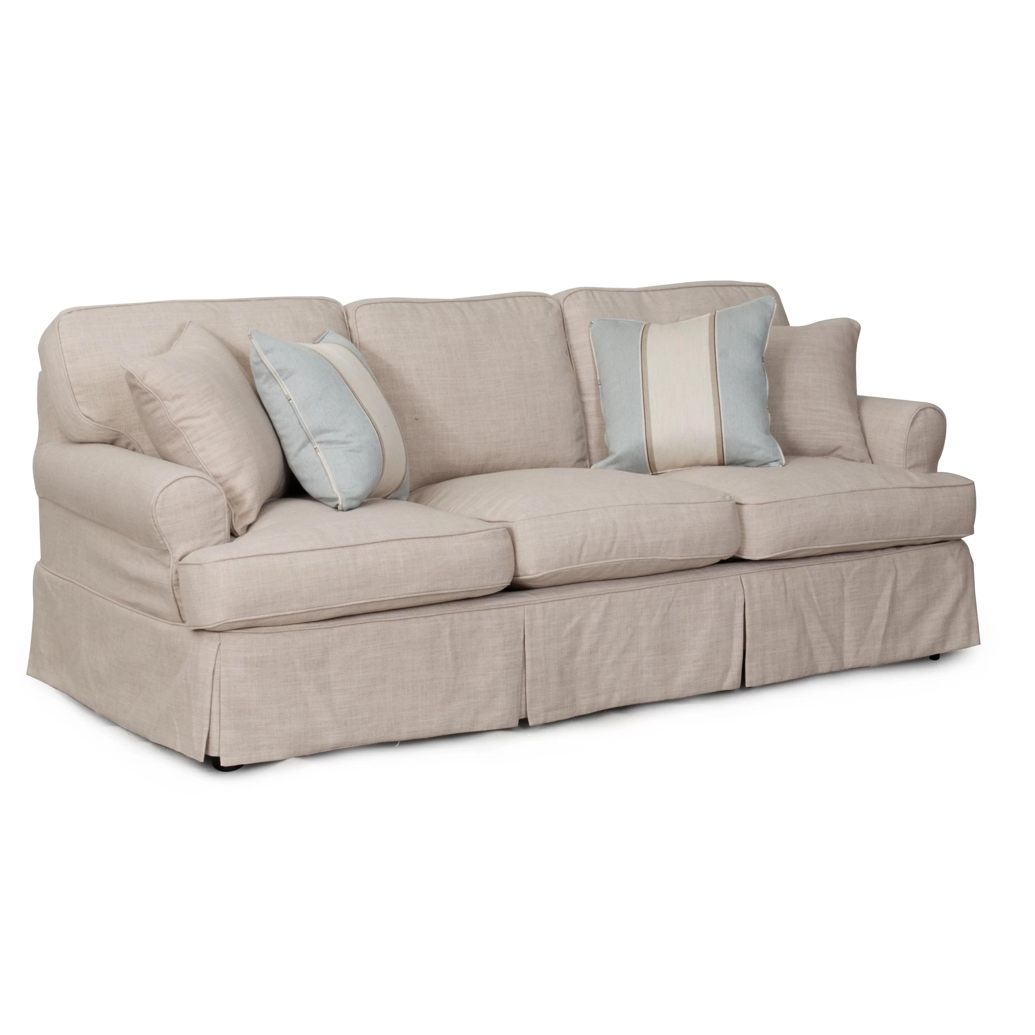 sure fit logan sofa slipcover ellis collection slipcovers t cushion