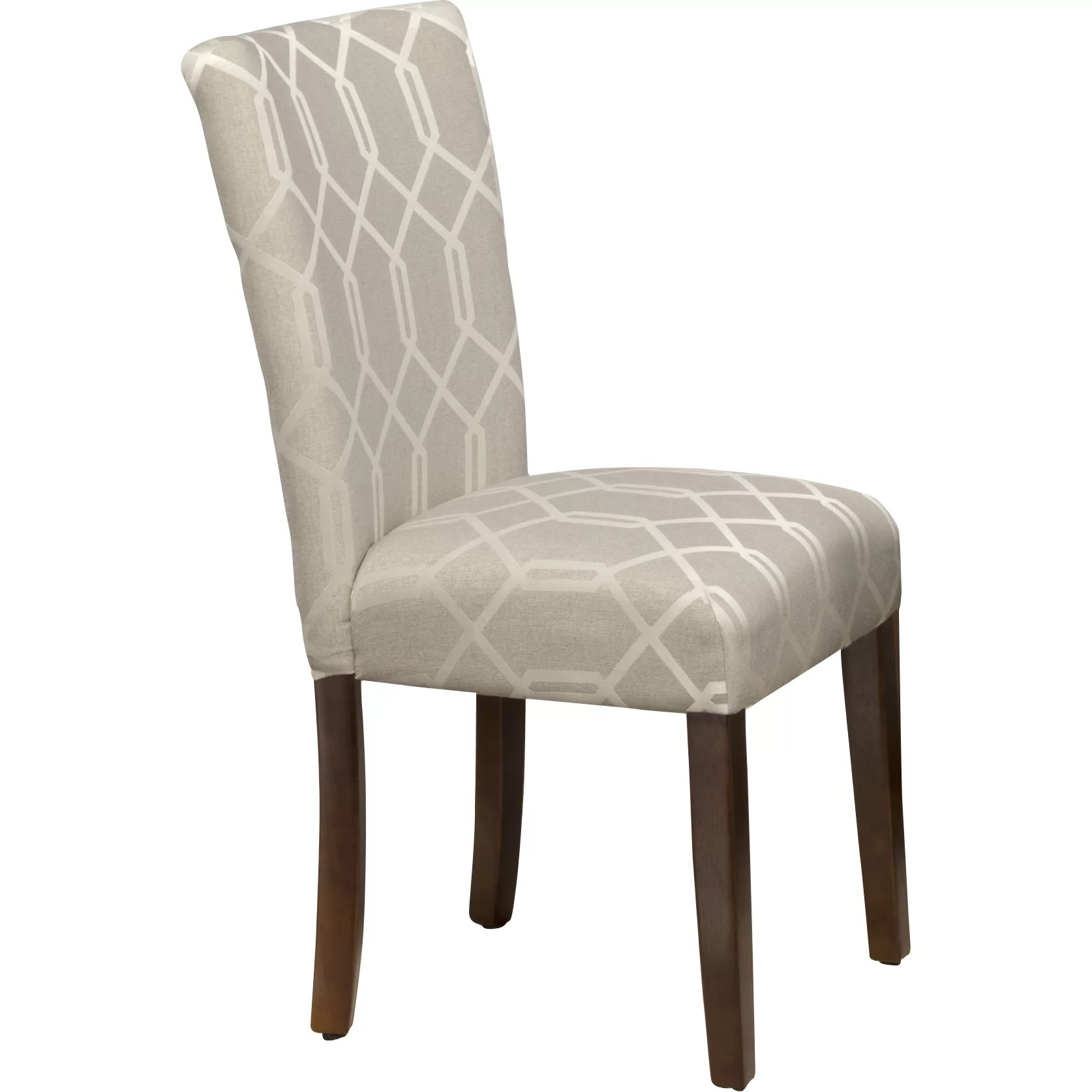Parson Chair Homepop Traditional Parsons Chair And Reviews Wayfair