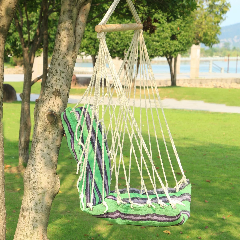 tree hanging hammock chair bamboo lounge chairs suspended indoor outdoor wayfair