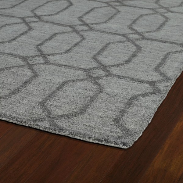 Kaleen Imprints Modern Grey Geometric Area Rug &
