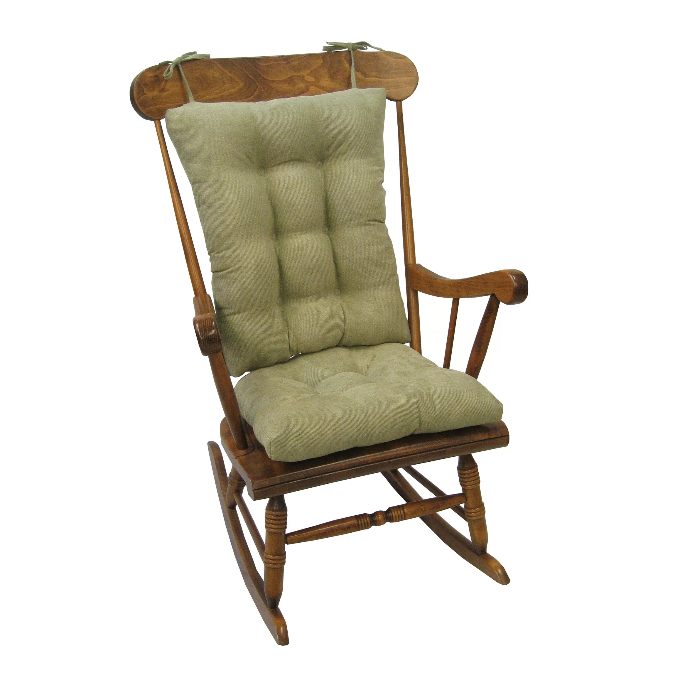 2 pc rocking chair cushions summit trophy review wayfair basics cushion