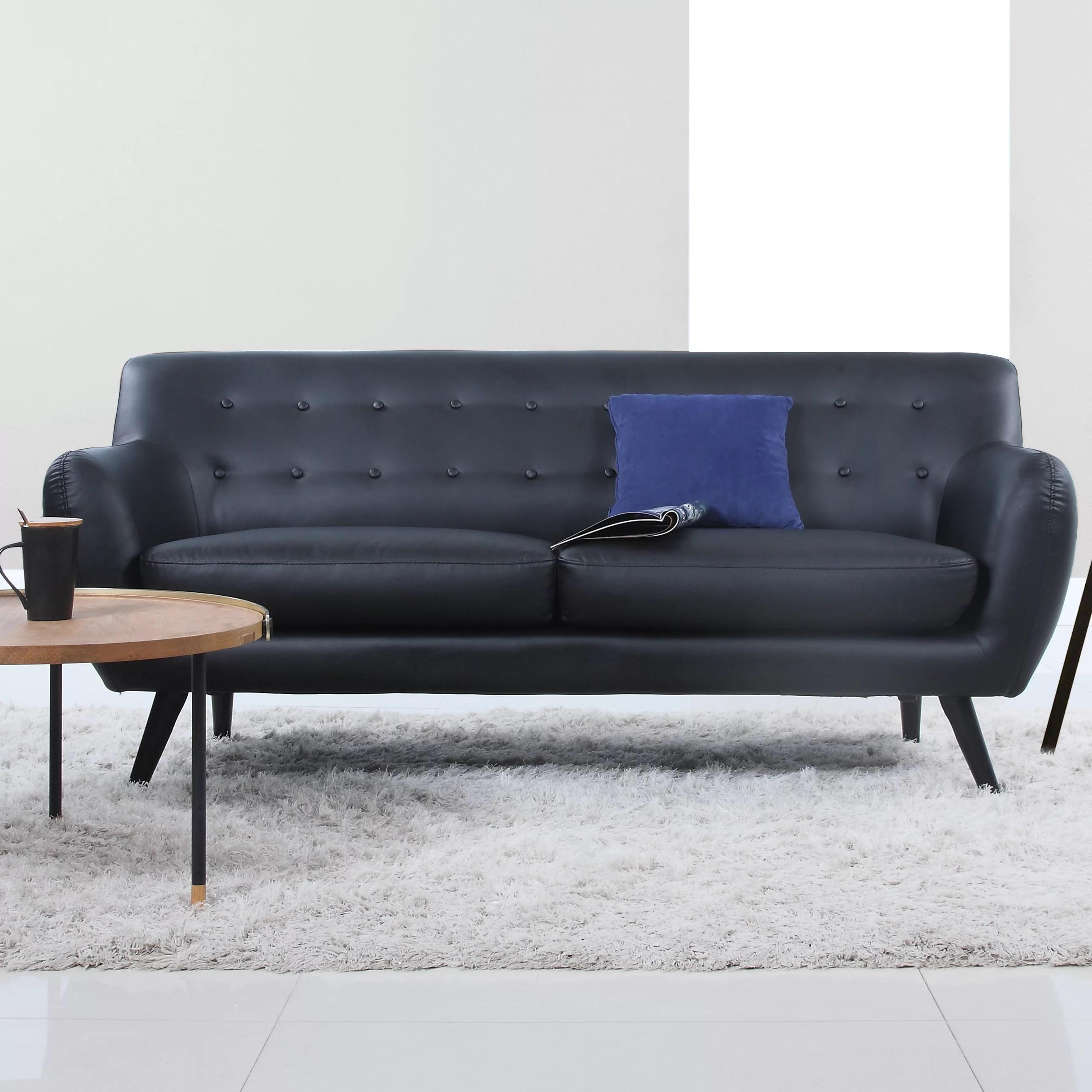 Madison Home USA Mid Century Modern Tufted Sofa  Reviews  Wayfair