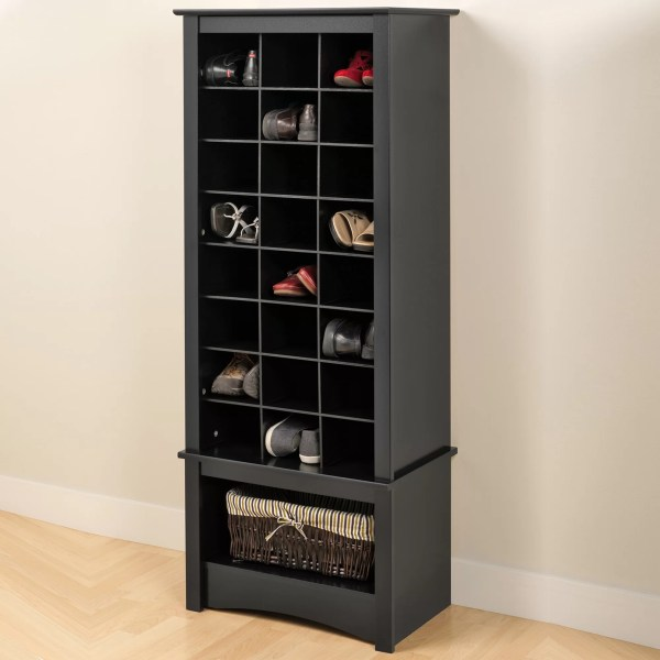 Felton Tall 24-pair Shoe Storage Cabinet