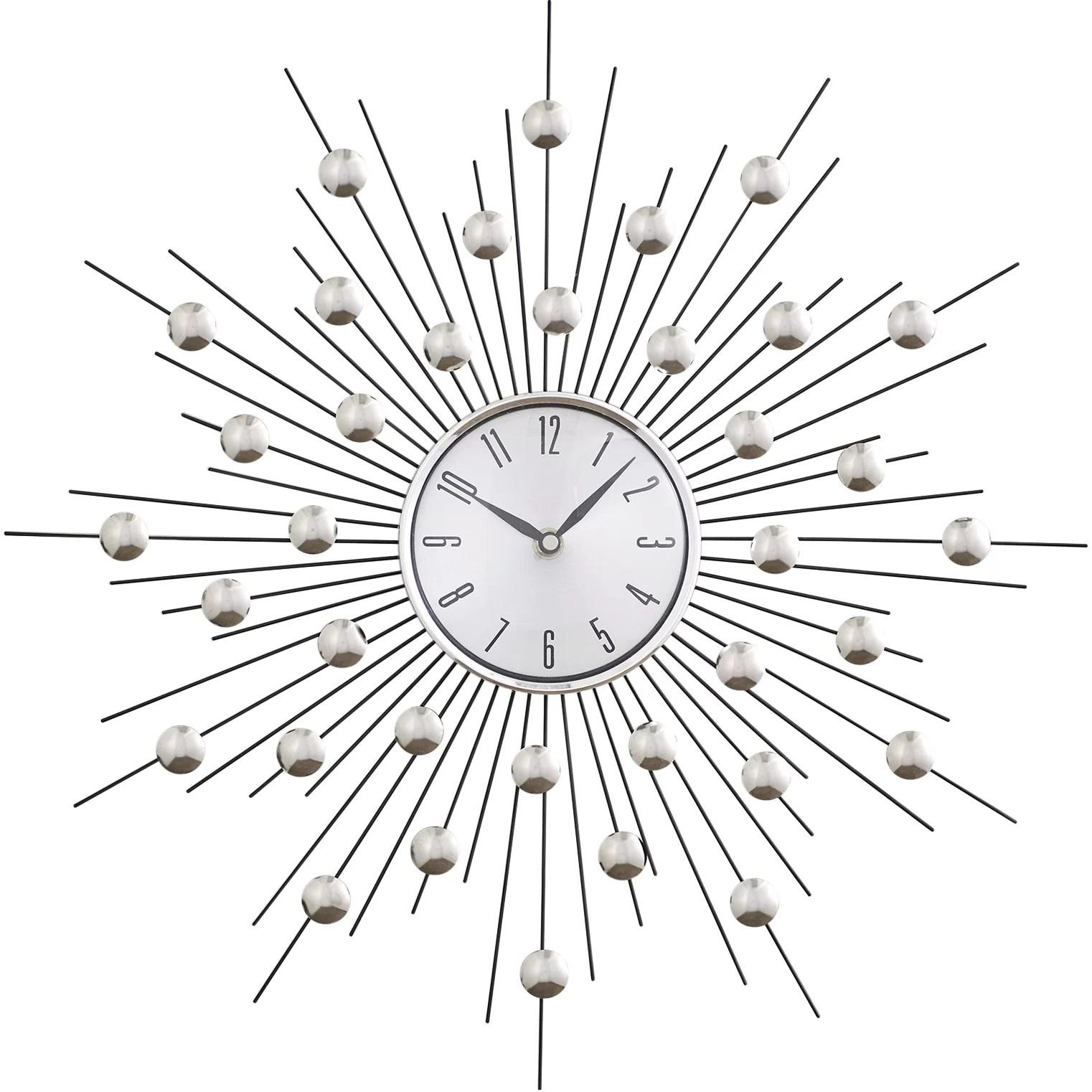 Lowe 20 Metal Wall Clock