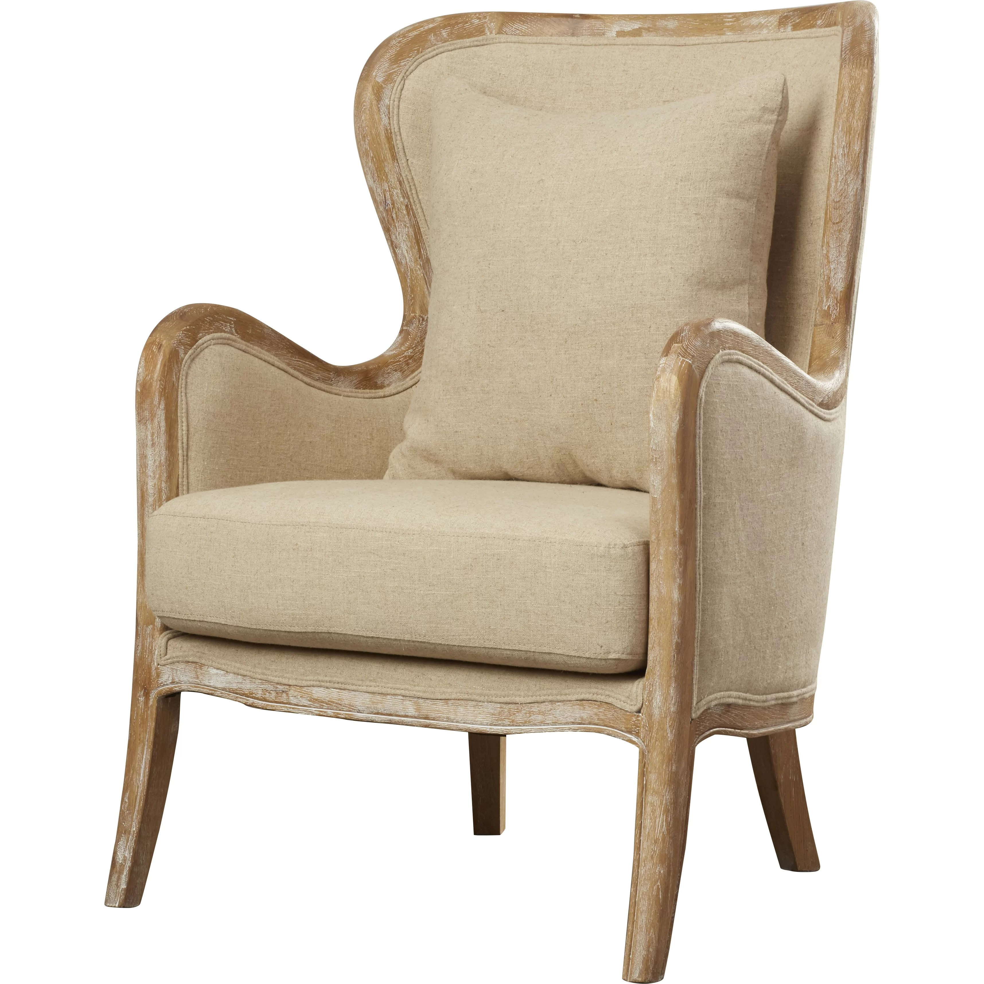 accent wingback chairs chair covers for folding near me lark manor lilya and reviews wayfair