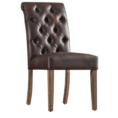 Tufted Side Chair Balt Posture Perfect Lark Manor Pompon And Reviews Wayfair