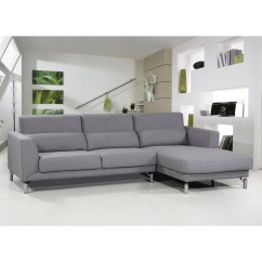 Aria Fabric Modern Sectional Sofa Set Kebo Futon Bed Covers Container And Reviews Wayfair