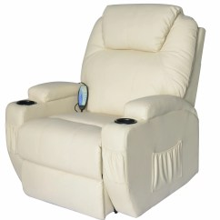 Heated Chair Cover For Recliner Big And Tall Lawn Chairs Outsunny Homcom Deluxe Vibrating Pu Leather Massage