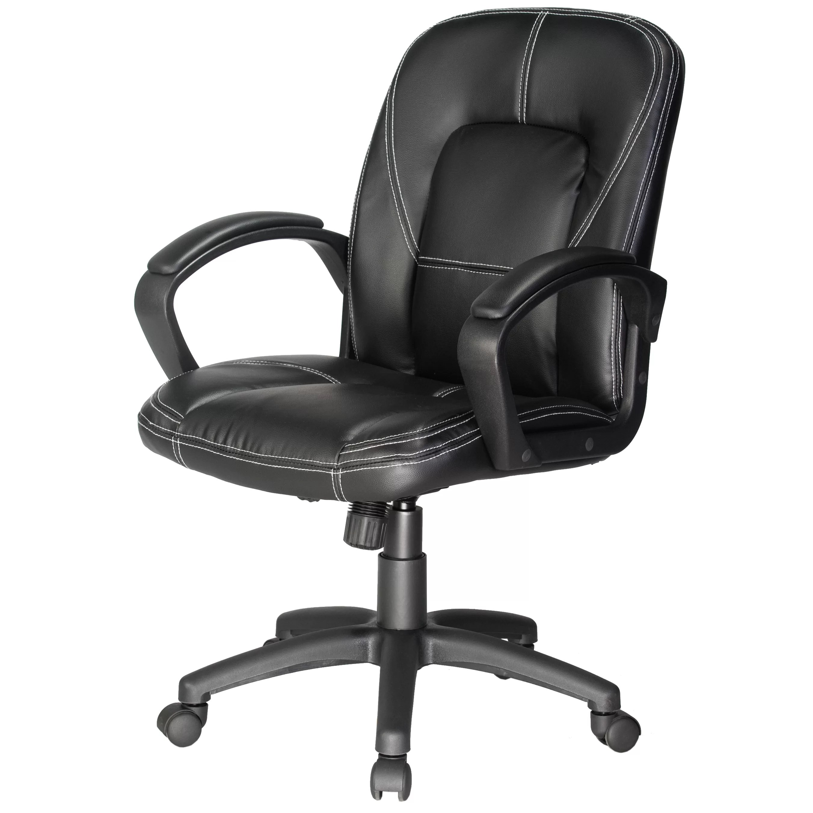 office chair reviews cane back dining chairs comfort products mid and wayfair