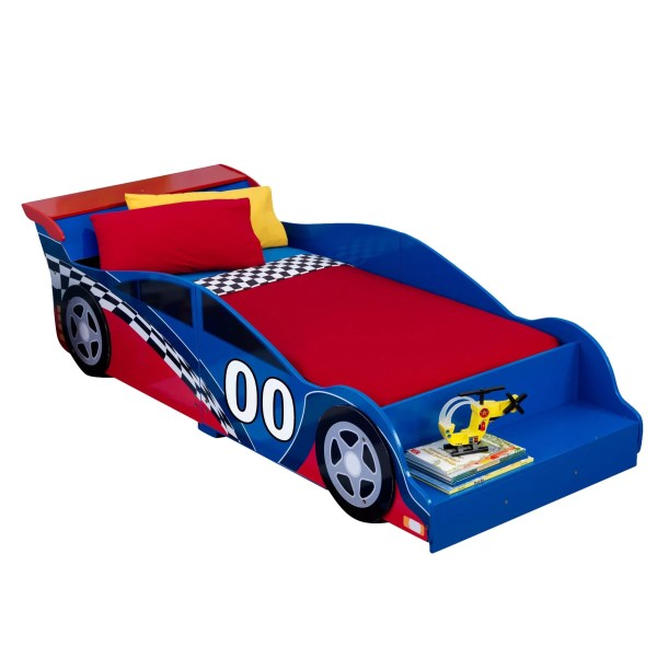 Kidkraft Racecar Toddler Car Bed &