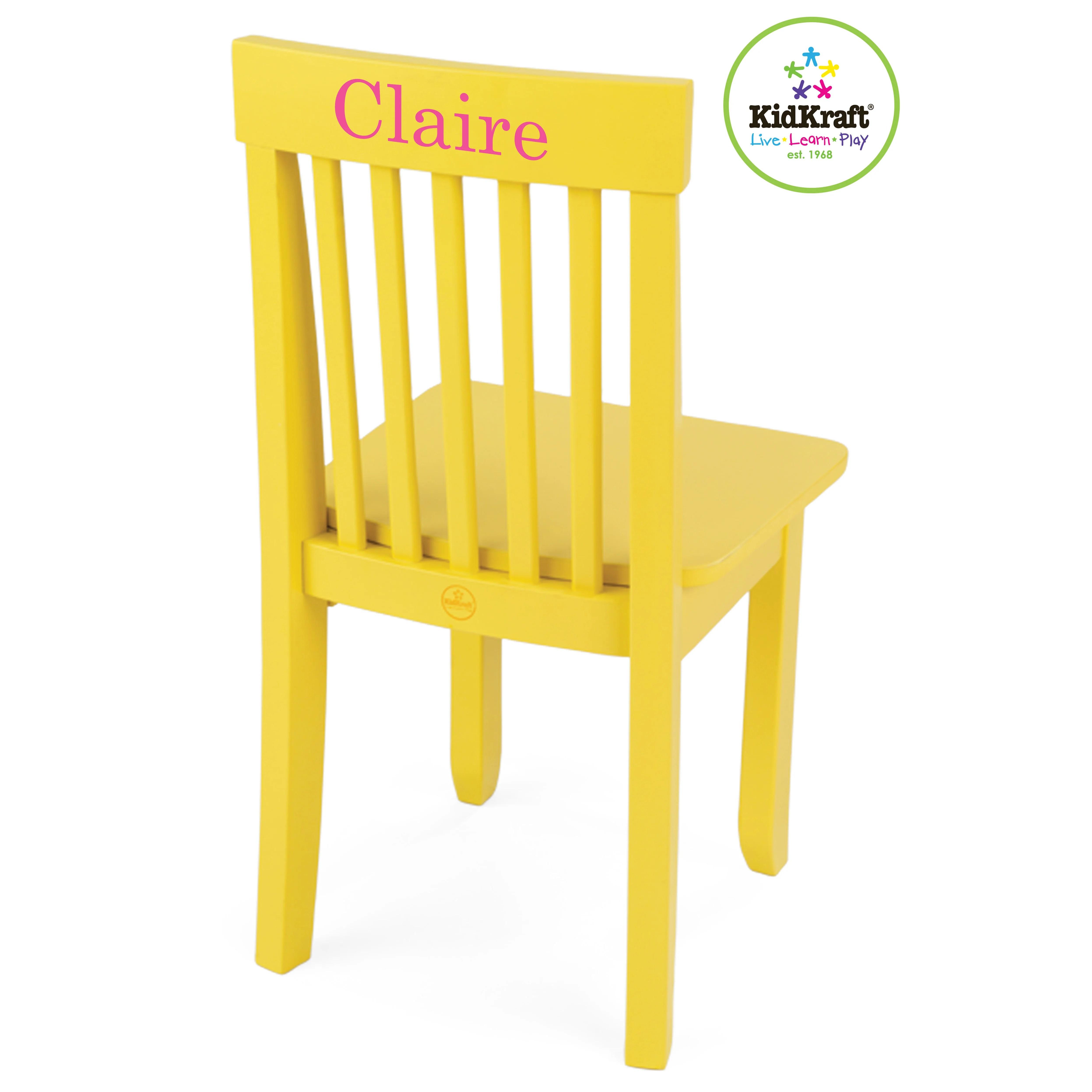 kidkraft avalon chair good posture reading personalized kids desk wayfair