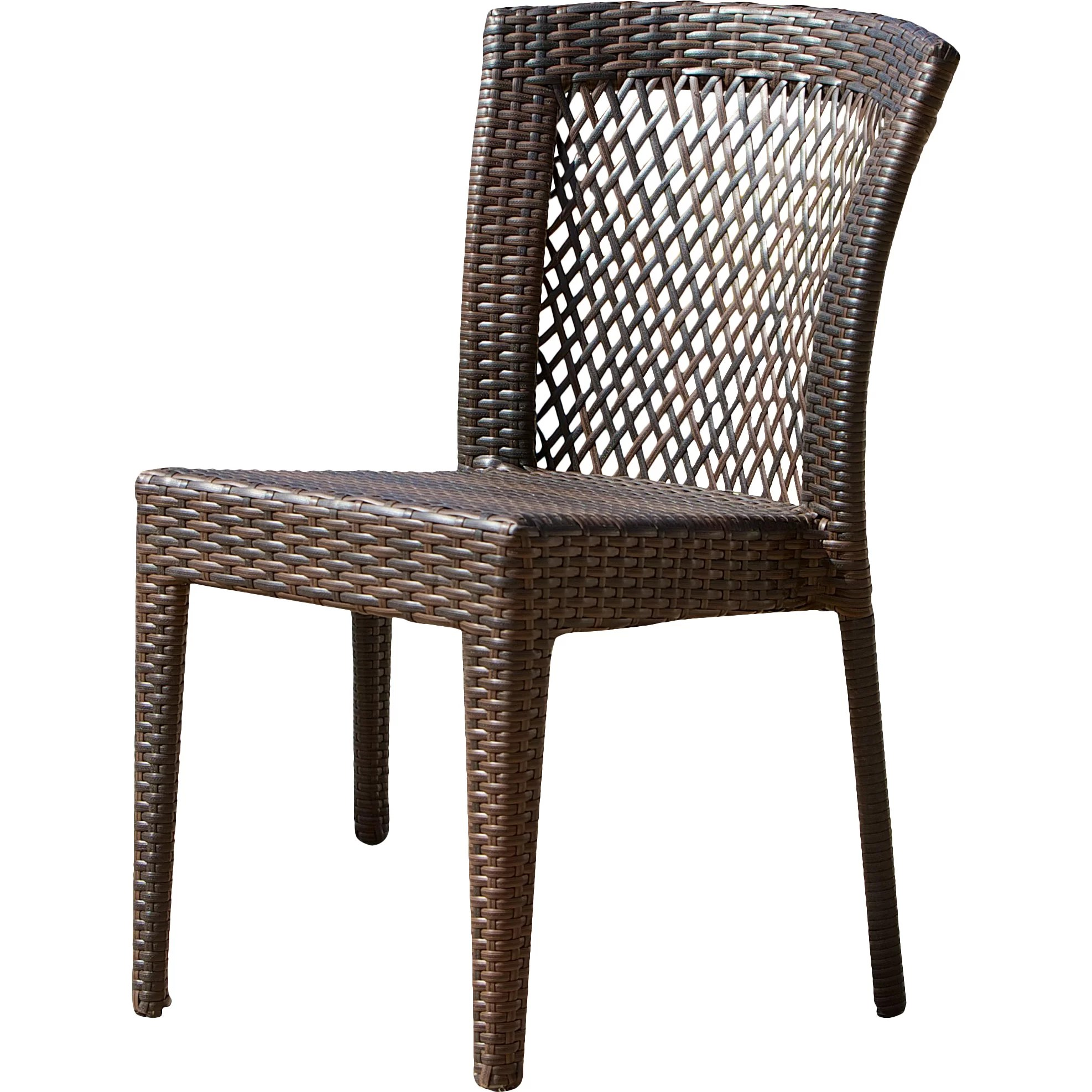 Wicker Patio Chair Dawson Outdoor Wicker Chair Wayfair