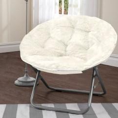Adult Saucer Chair Used Accent Chairs Urban Shop Mongolian Fur Papasan And Reviews Wayfair