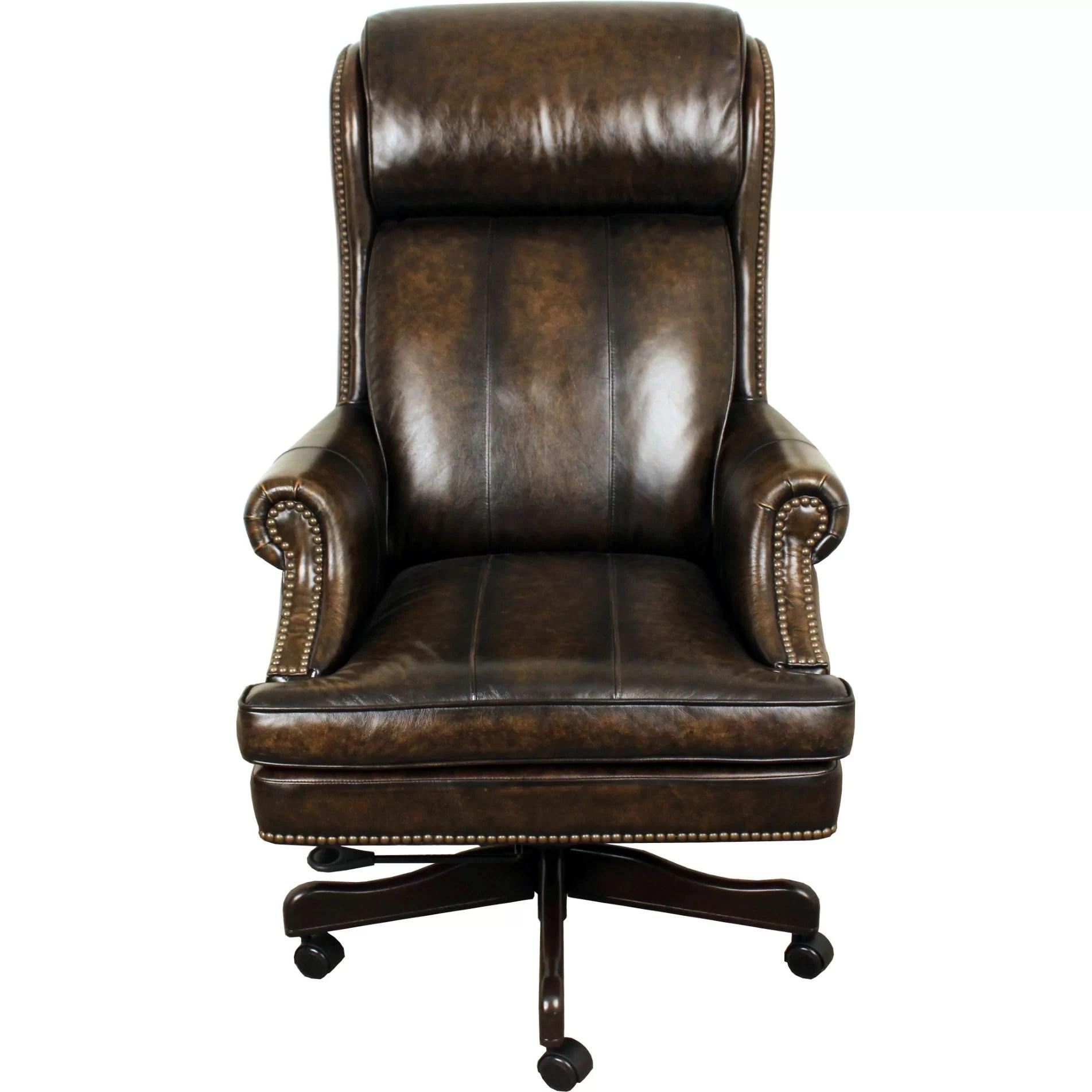 high back leather executive chair covers derbyshire lynton office wayfair