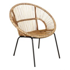 Round Bamboo Chair Geri Recliner Papasan Wayfair