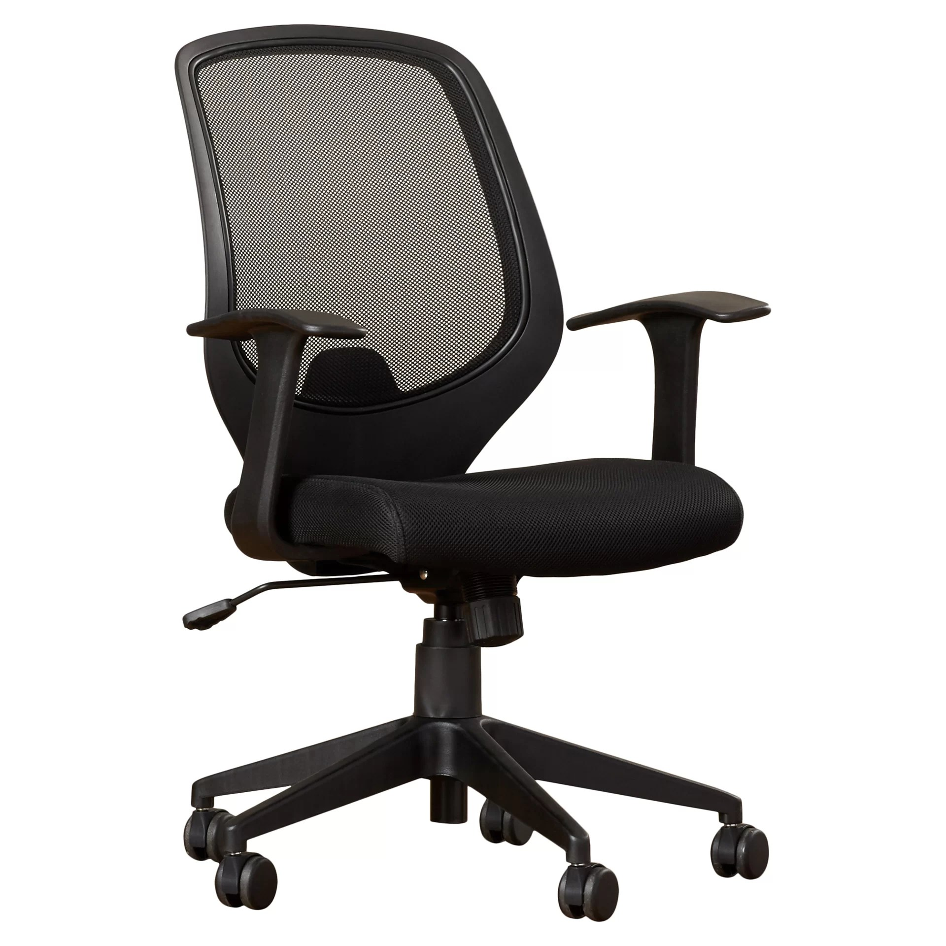 mid back mesh chair office chairs chicago il swivel task with arms wayfair