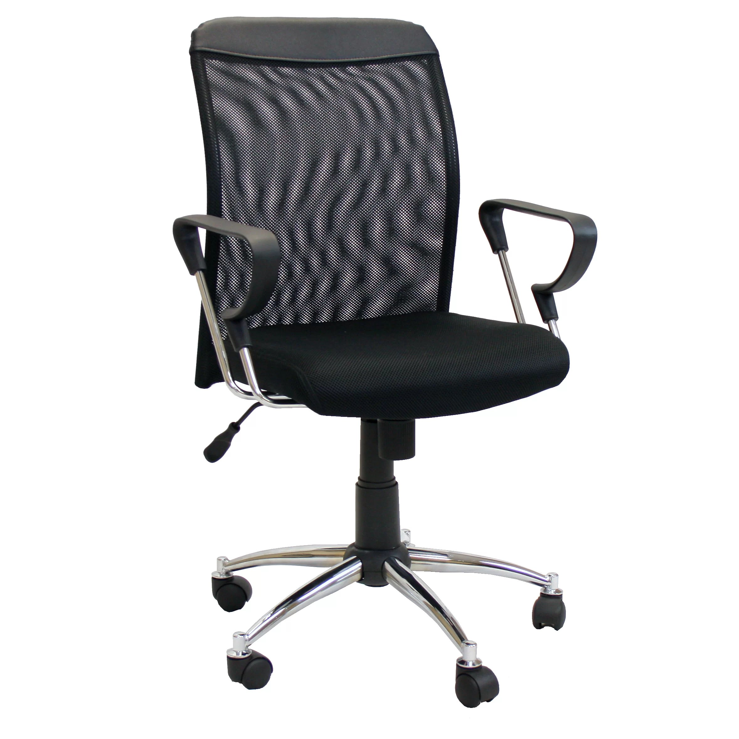 low back chair jazzy motorized mesh conference wayfair