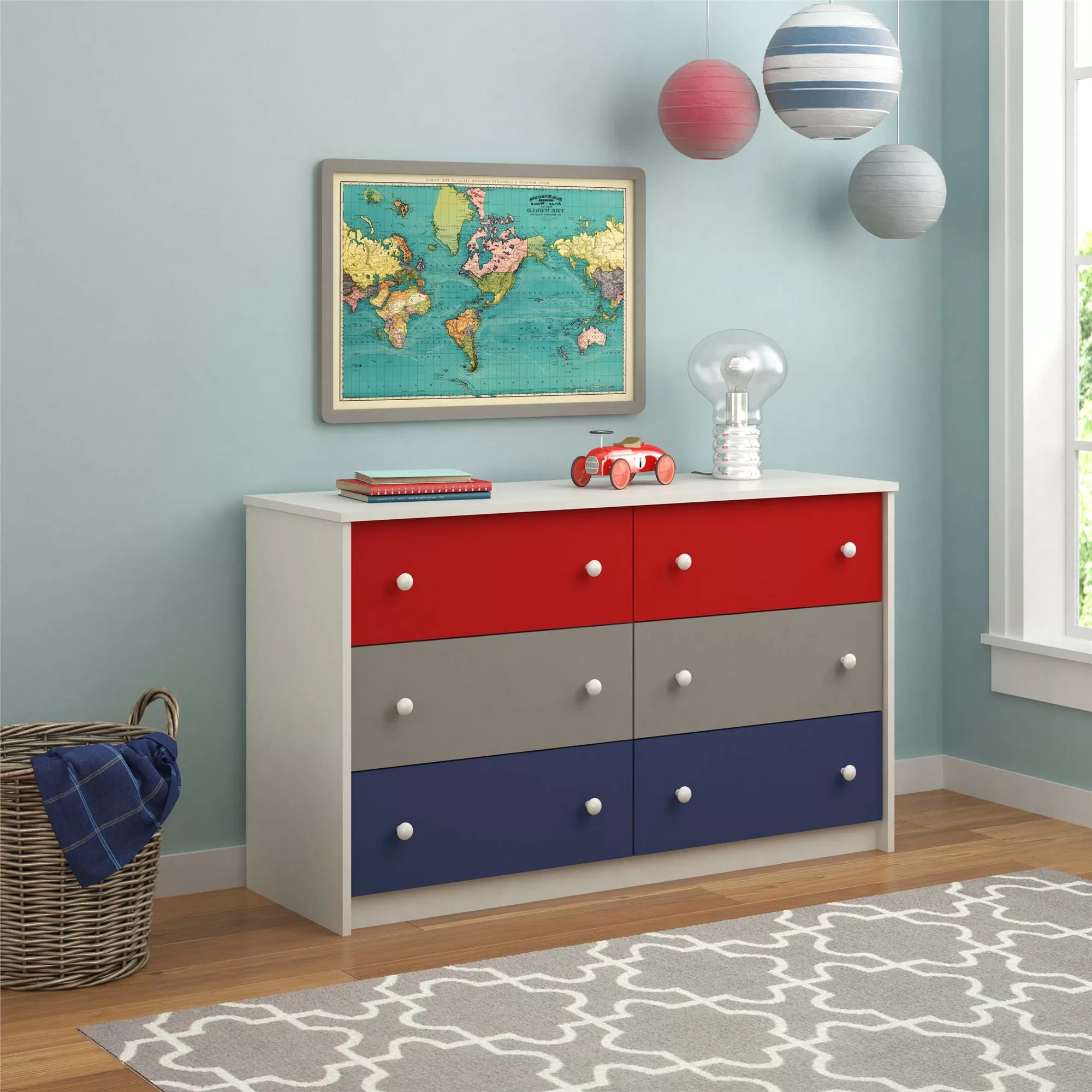 Zoomie Kids Jennifer 6 Drawer Dresser  Reviews  Wayfair