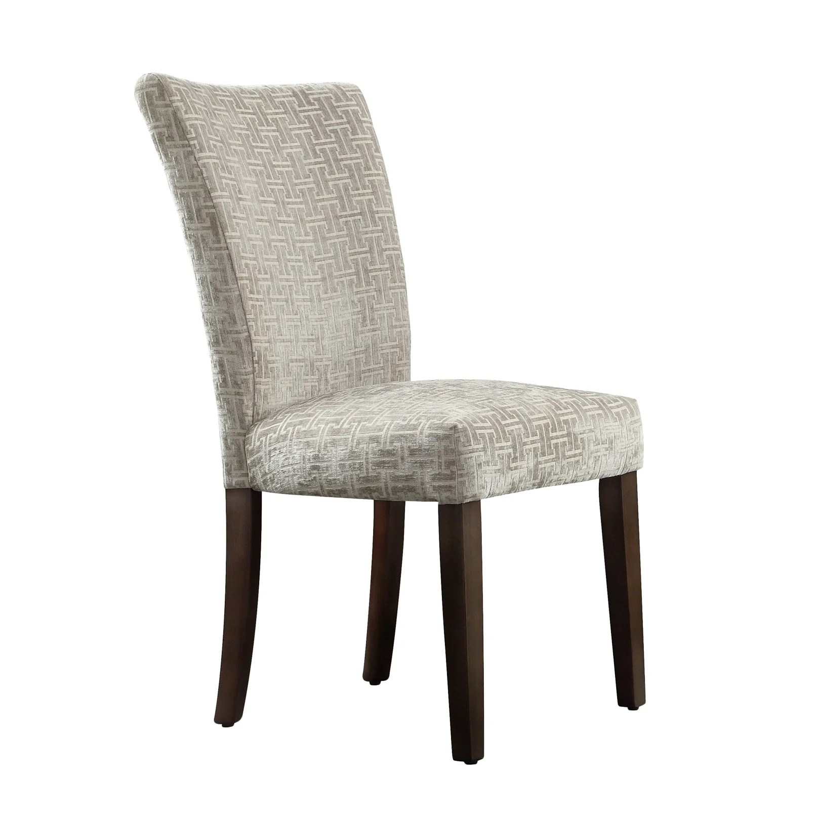 Parson Chair Mercer41 Oliver Link Print Parson Chair And Reviews Wayfair