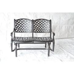 Newport Rocking Chair Swinging With Stand Glider Bench Wayfair