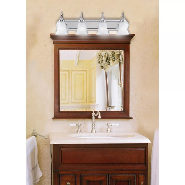 4 Light Bathroom Vanity