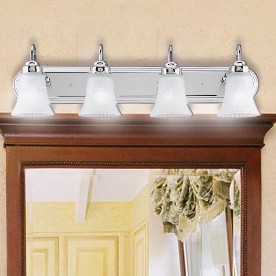4 Light Bathroom Vanity Light  Wayfair