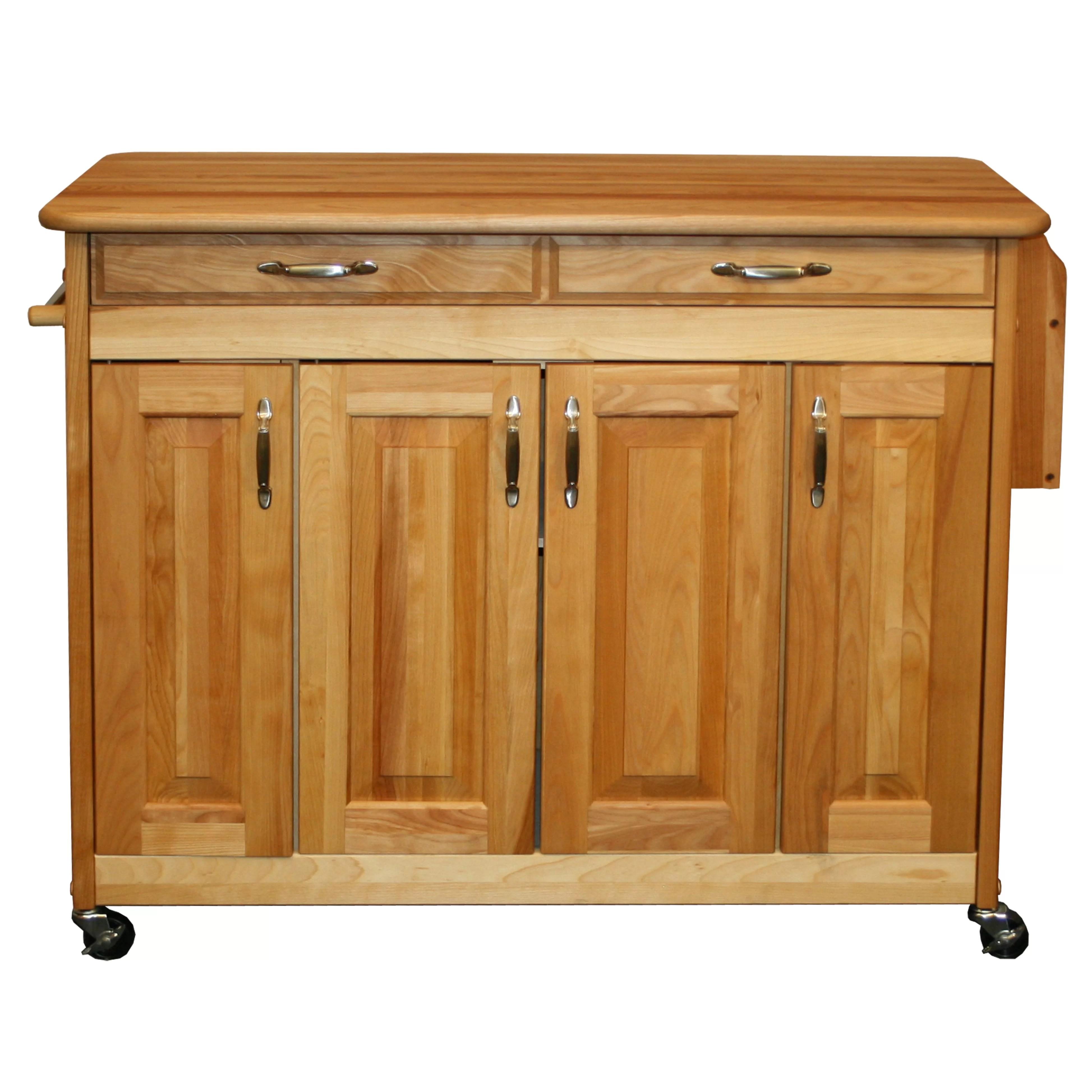 Catskill Craftsmen Kitchen Island & Reviews  Wayfair