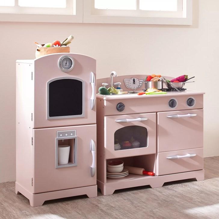 Piece Wooden Play Kitchen Set Teamson Kids