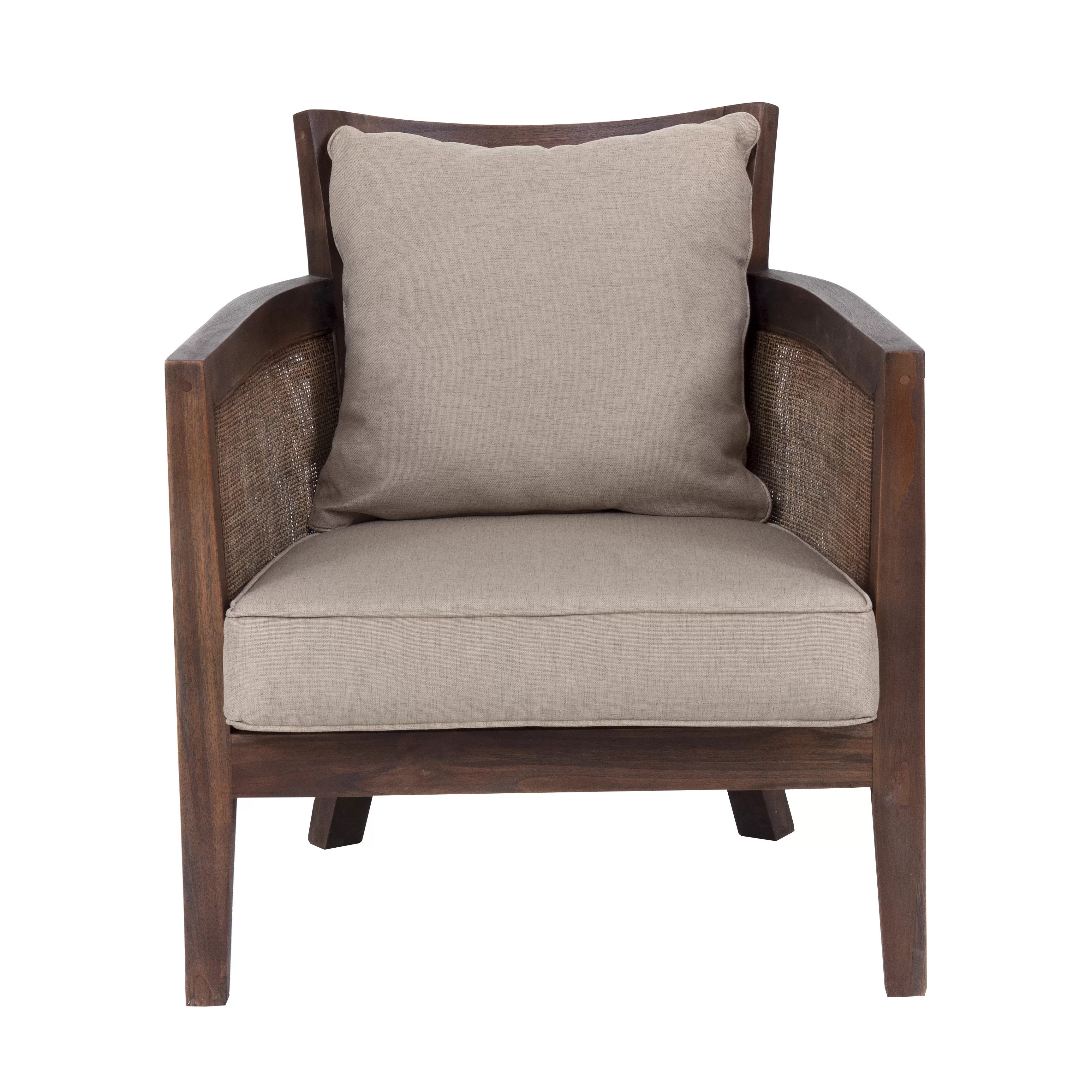 lounge chair material wooden z high mumba fabric wayfair