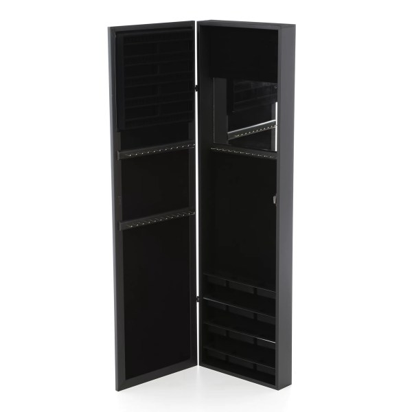 Mirrotek Wall Mounted Jewelry Armoire With Mirror &