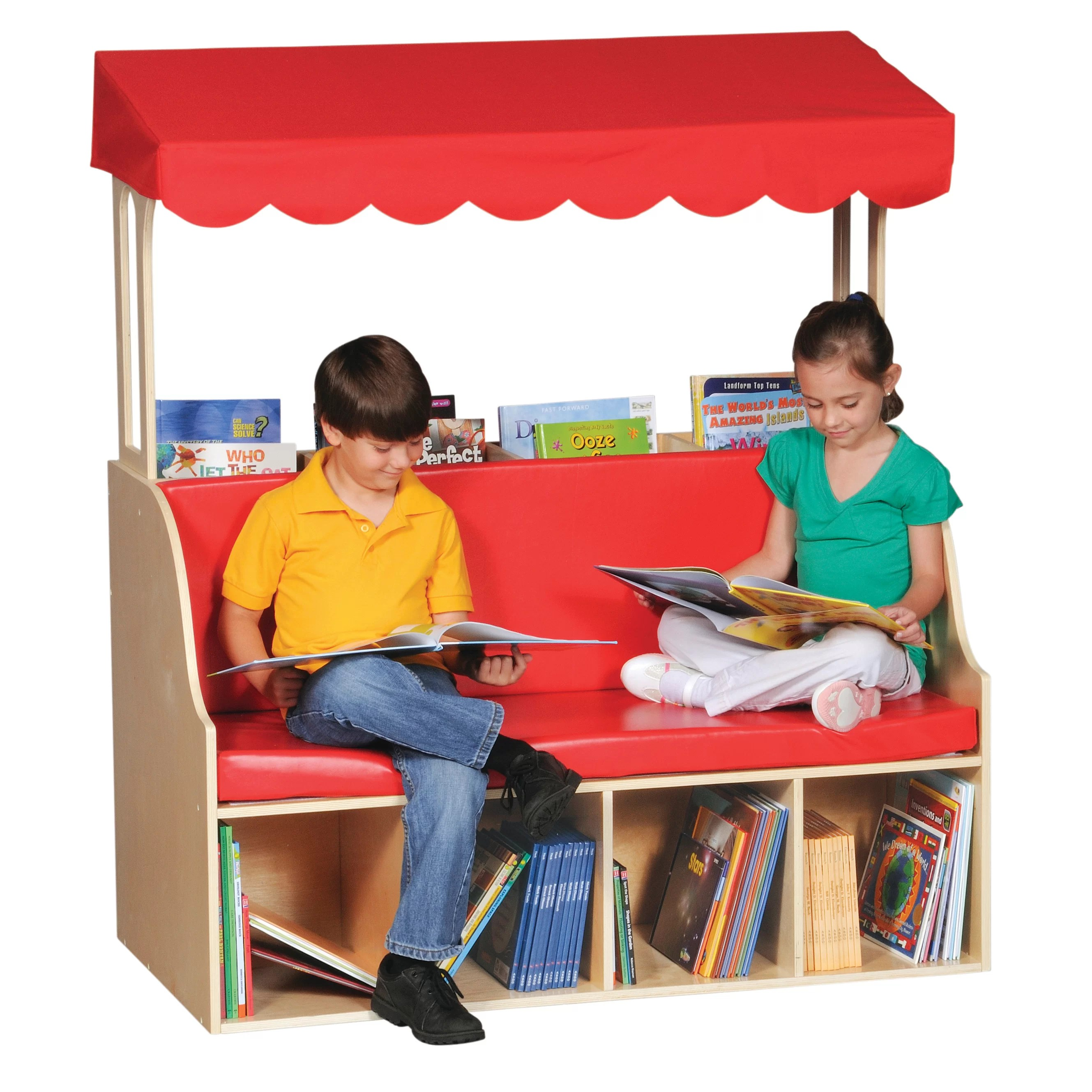 kids chair with canopy furniture chairs for reading center wayfair
