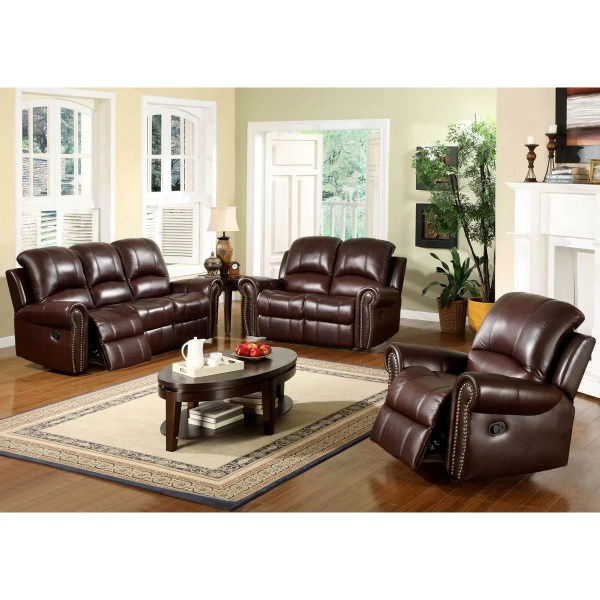 Abbyson Living Leather Recliner