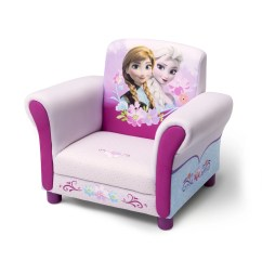 Kids Arm Chairs Grey Leather Dining With Chrome Legs Delta Children Disney Frozen Upholstered Chair