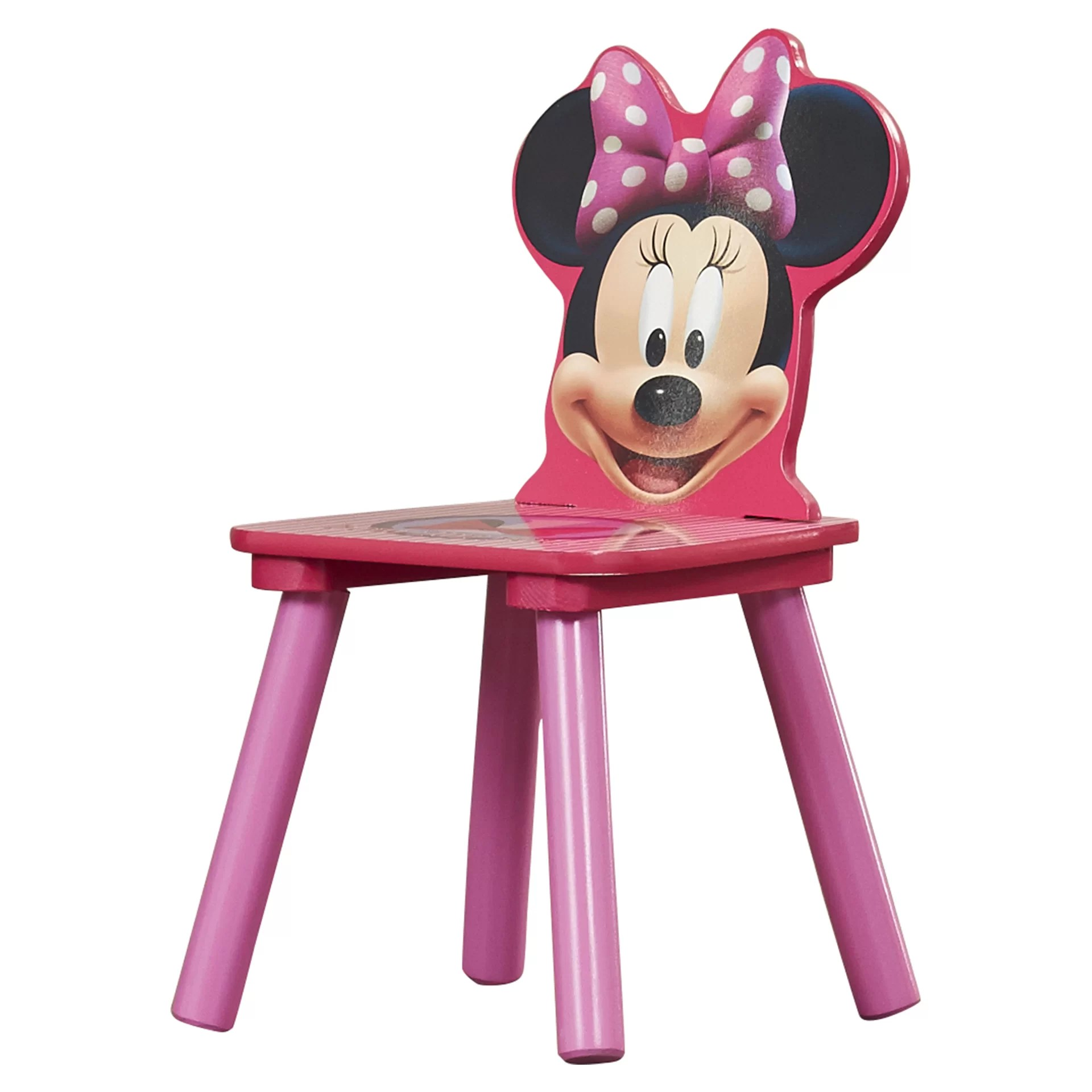 minnie table and chairs small for kitchen uk delta children mouse kids 3 piece chair